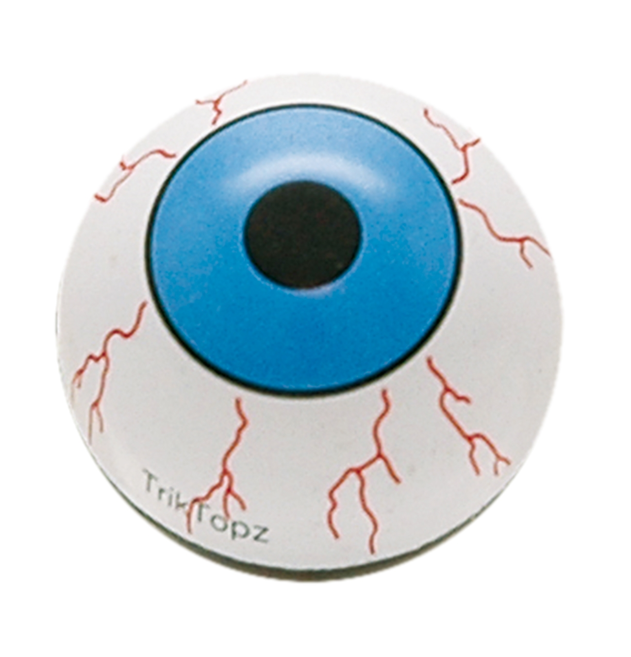 Bouchon de valve TrickTopz Eye Ball Bleu (x2)