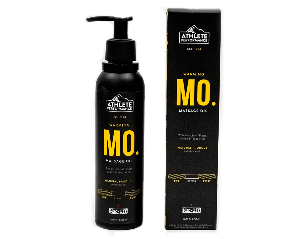 Huile de massage Muc-Off Warming 200 ml