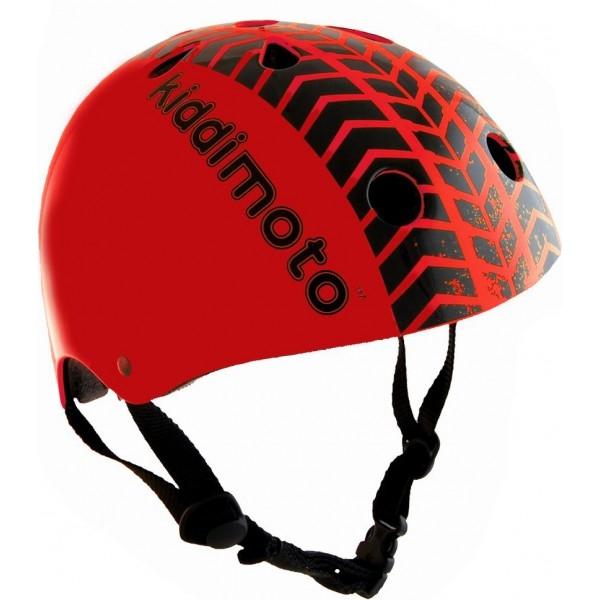 Casque enfant Kiddimoto Red Tyre - S (48-53 cm)