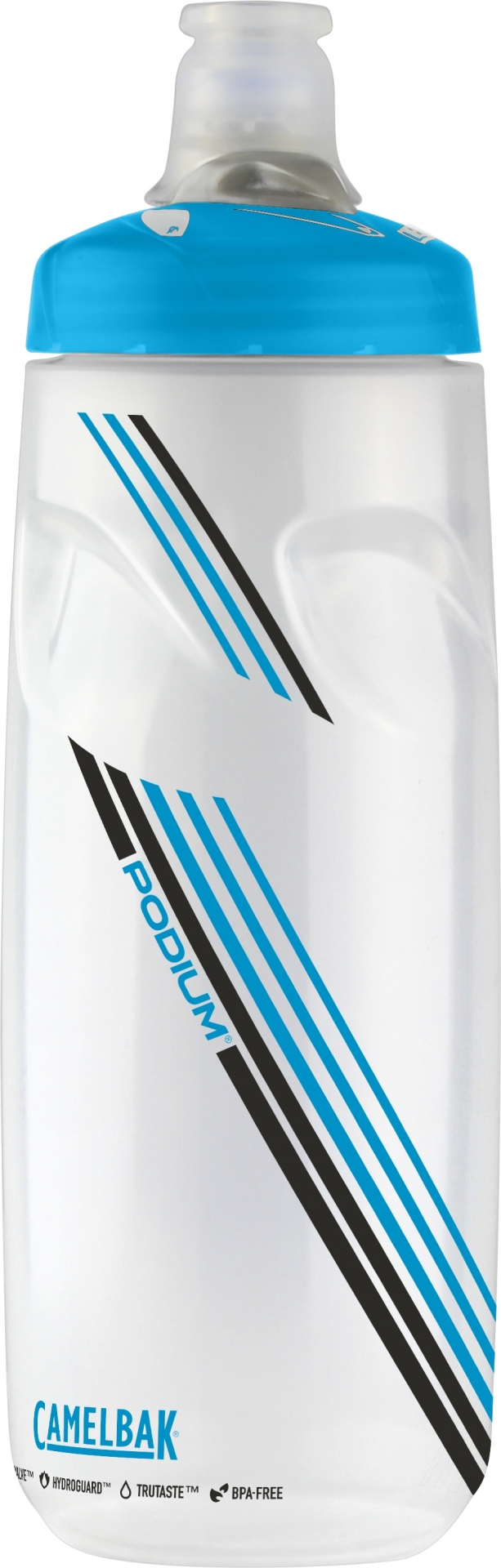 Bidon CamelBak Podium 710 ml Transparent/Bleu