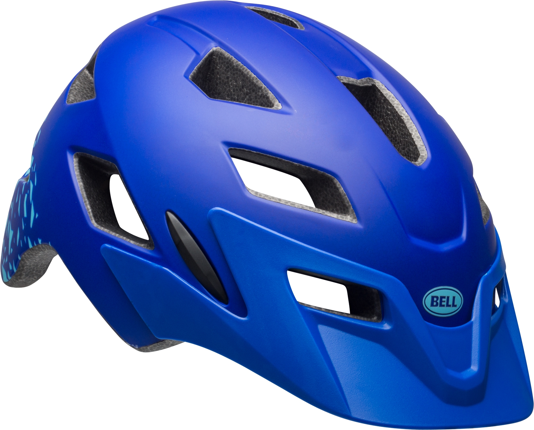 Casque enfant Bell SIDETRACK CHILD Bleu Pacific mat/Bleu Sky