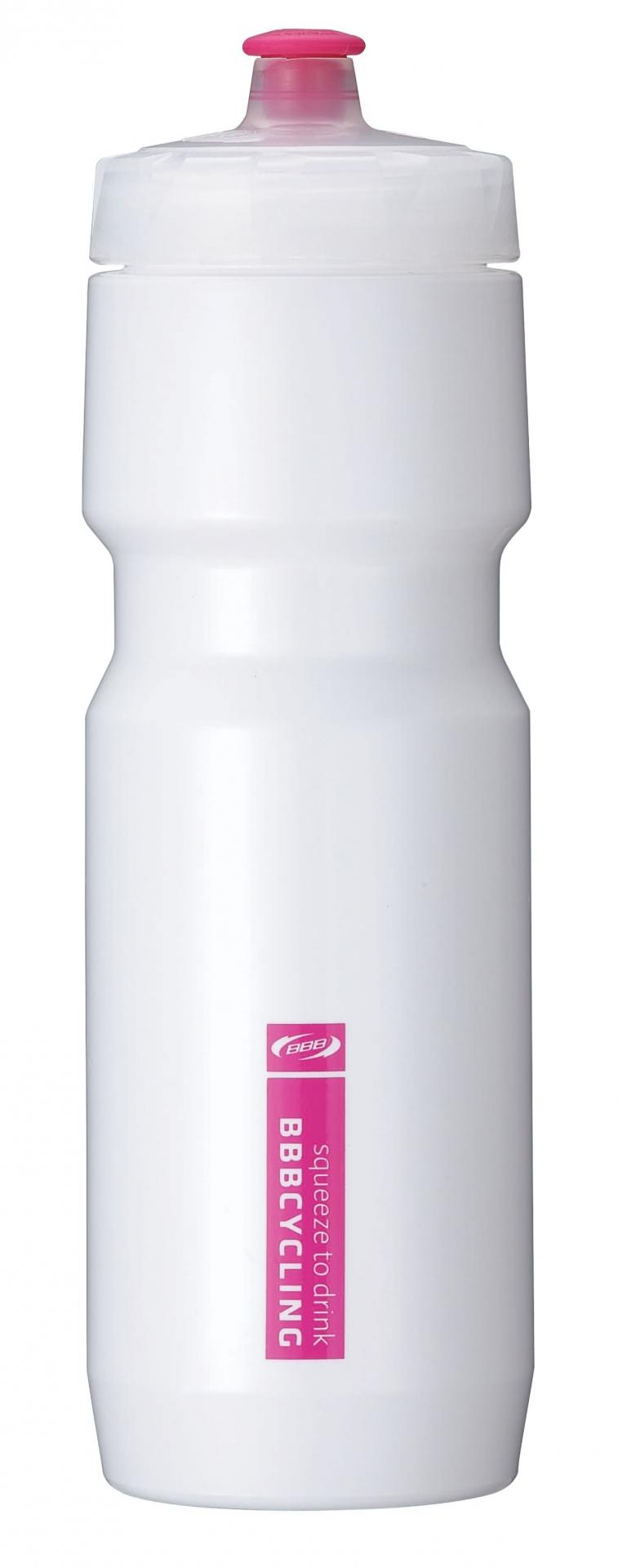 Bidon BBB CompTank 750 ml Blanc/Rose - BWB-05