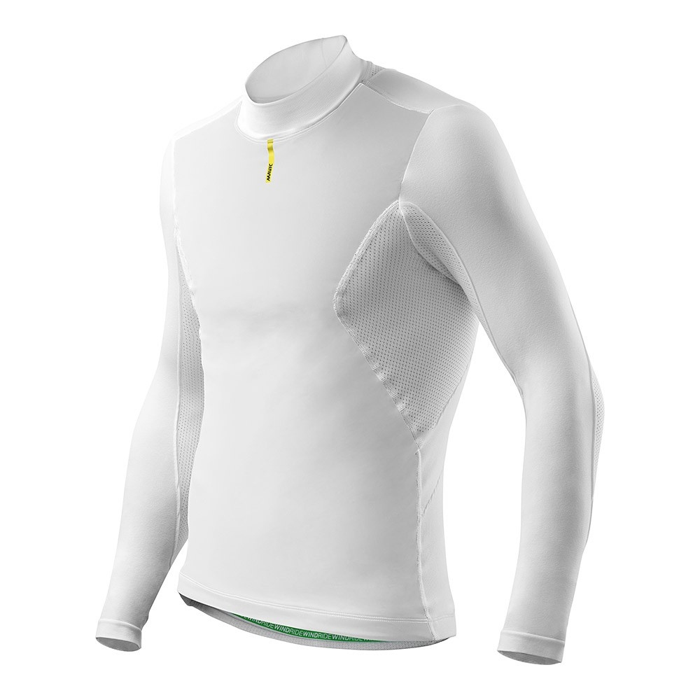Maillot thermique Mavic Wind Ride manches longues Blanc - XS/S