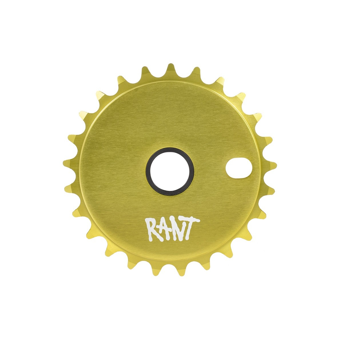 Couronne BMX Rant Stick'Em Sprocket 25 dts Vert Citron