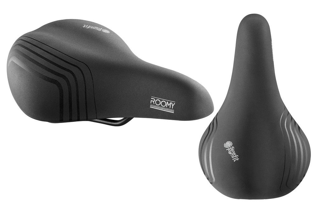 Selle vélo Royal moderate Roomy Spring Homme Noir