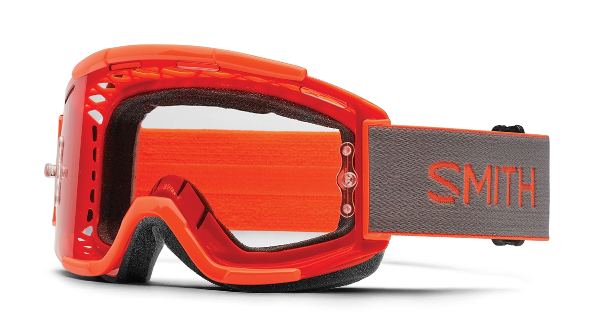Masque Smith Optics Squad MTB Neon Orange/Clear