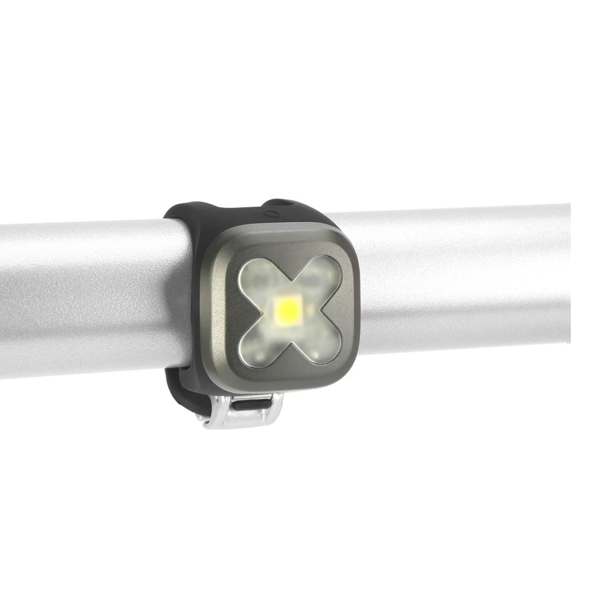 Éclairage avant Knog Blinder Croix 1 LED - Vert Citron