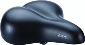 Selle BBB BaseComfort à mémoire de forme Noir - BSD-84