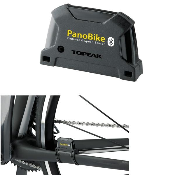 Capteur de vitesse et cadence Bluetooth Topeak compatible PanoBike et smartphones