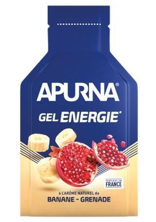 Gel énergie 2h Apurna Banane Grenade 35 g