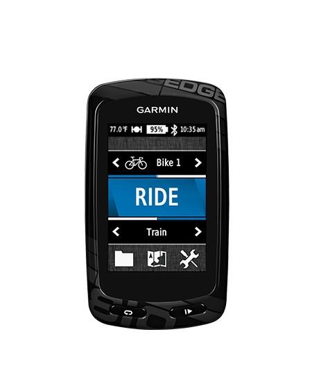 Compteur de vélo GPS Garmin Edge 810 (HRM + CAD + CNE)