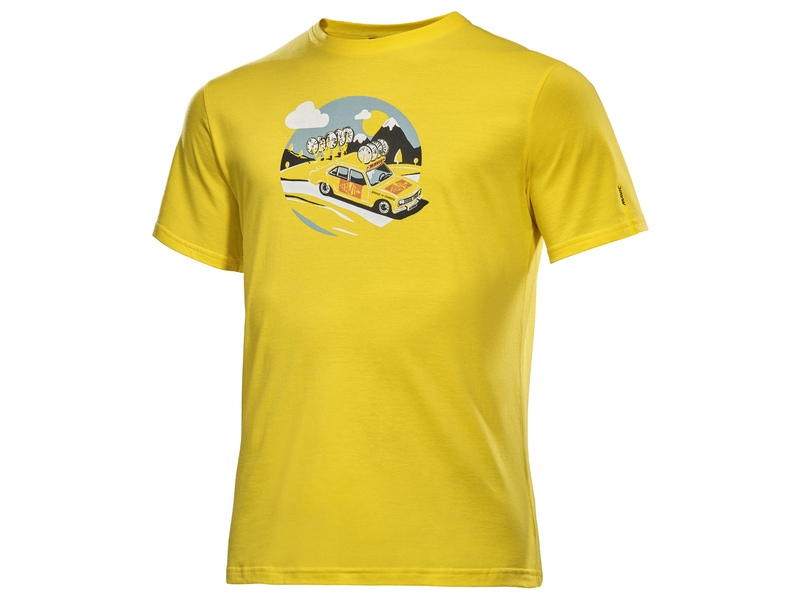 T-shirt Mavic SSC Yellow Car Jaune - M