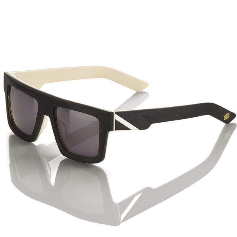 Lunettes de soleil 100% Bowen unfinished noir/beige