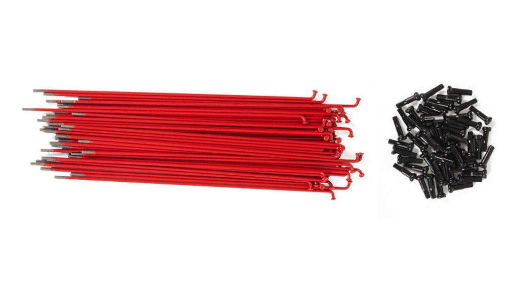 Pack de 40 rayons TSC rouge 186 mm