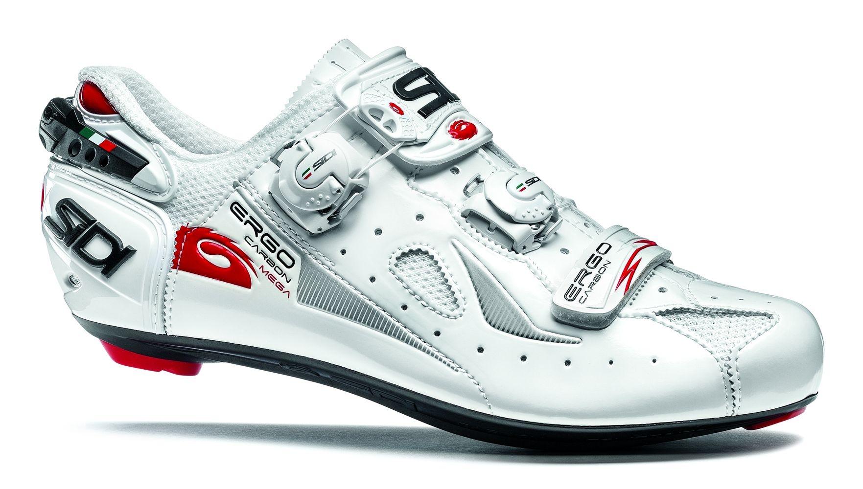 Chaussures Sidi ERGO 4 Mega Carbon Composite Blanc - 42