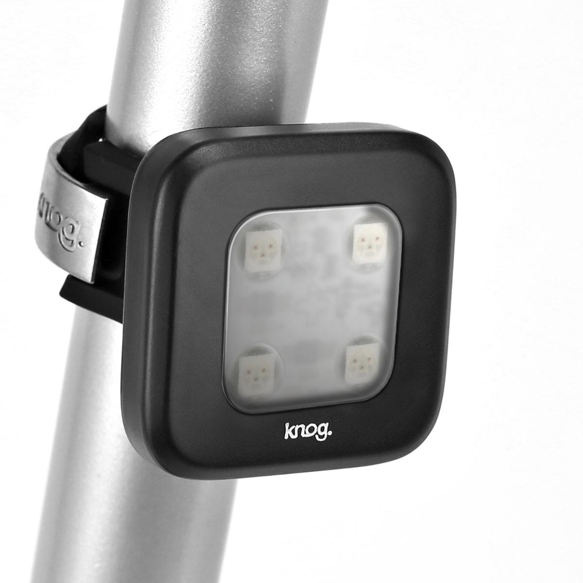 Éclairage arrière Knog Blinder Carré 4 LED - Noir