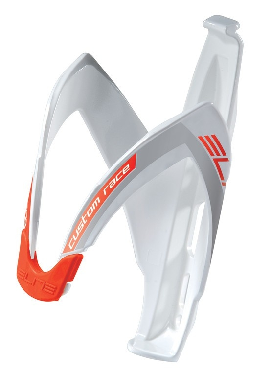 Porte-bidon Elite Custom Race Blanc/Rouge