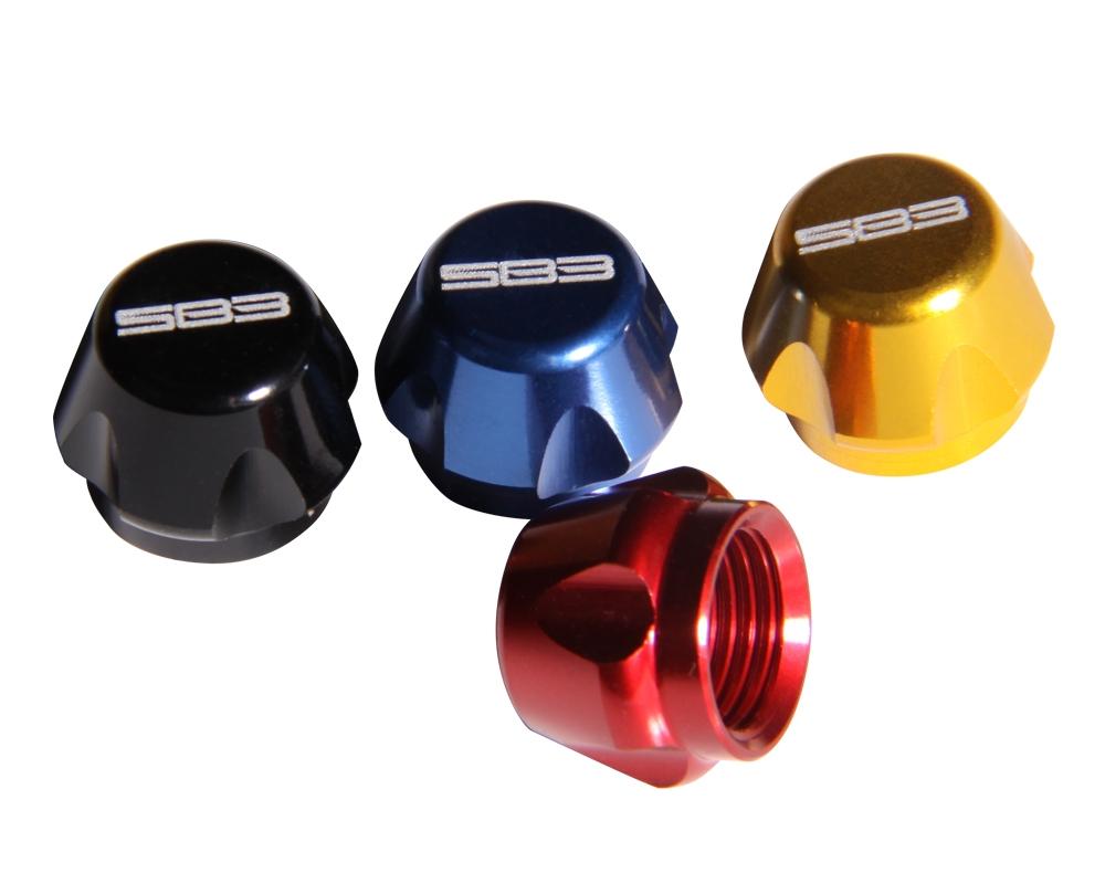 Bouchon SB3 pour valve d'amortisseur Bleu