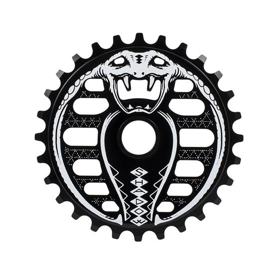 Couronne TSC Kobra Sprocket 28 dents Noir