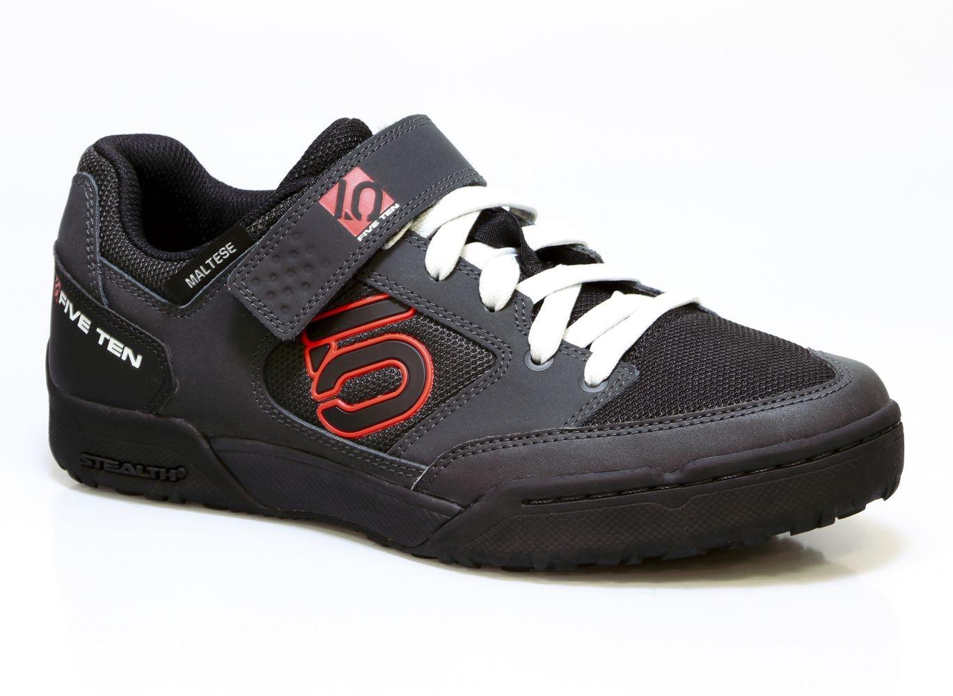 Chaussures Five Ten Maltese Falcon Noir Carbon/Rouge - UK-5.5 (39.0)