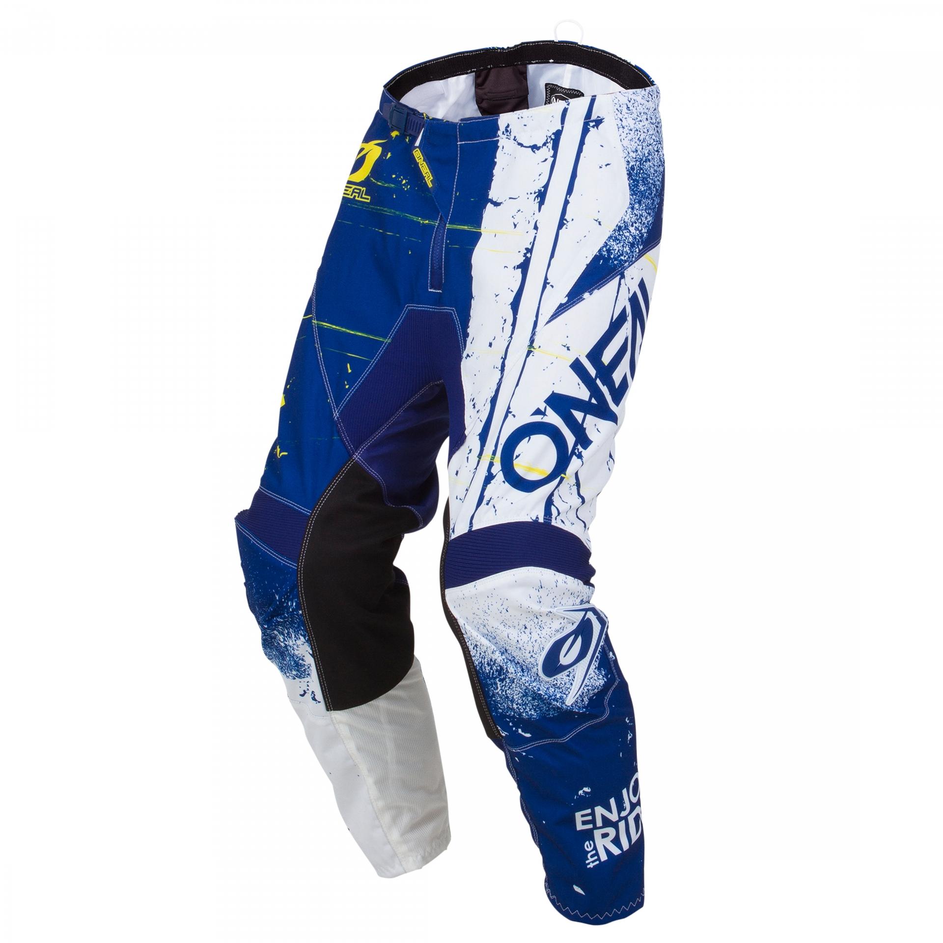 Pantalon MX O'Neal Element Shred Bleu - 40