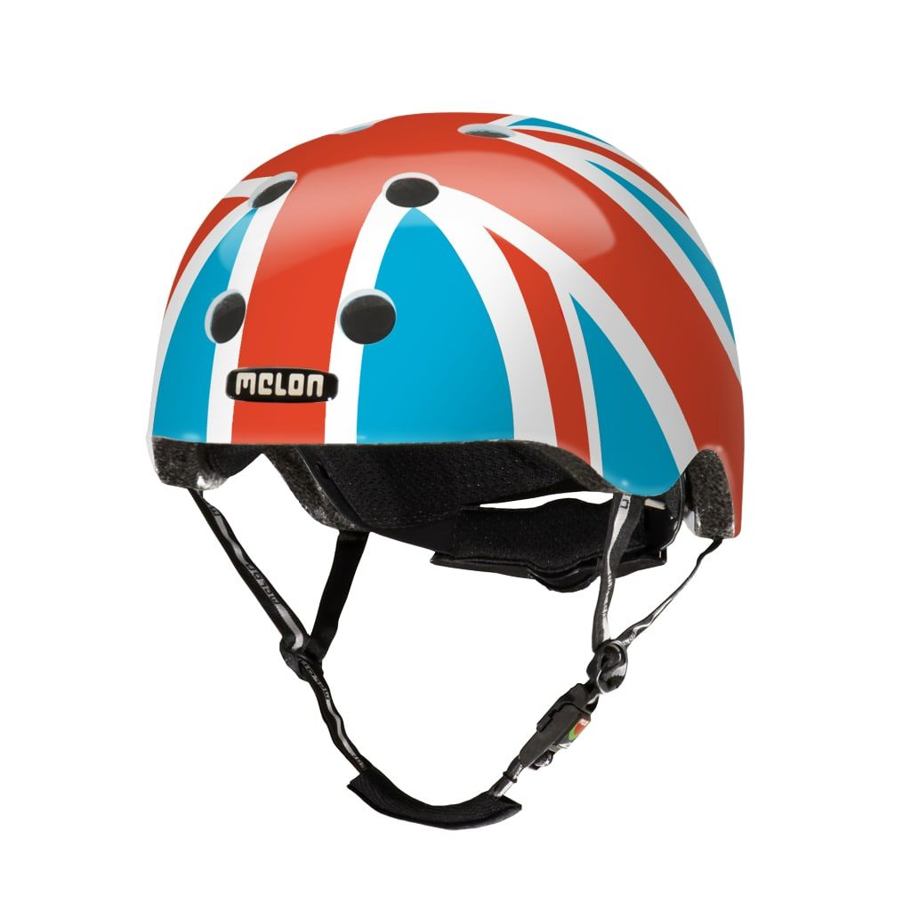Casque Melon Urban Active Story Union Jack Summer Sky - Xl-XXL / 58-63 cm
