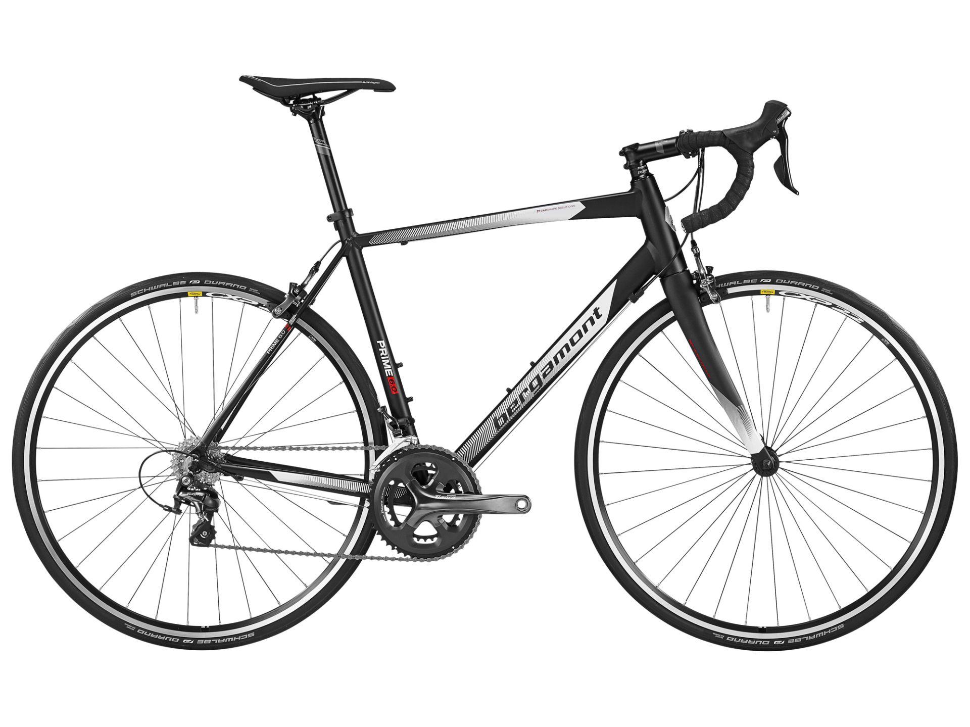 Vélo de route Bergamont Prime 6.0 Noir/Blanc - 53 cm