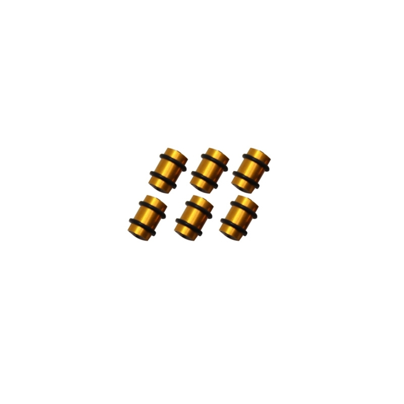 O-Ring dérailleur VTT alu Or (kit de 6 pièces)