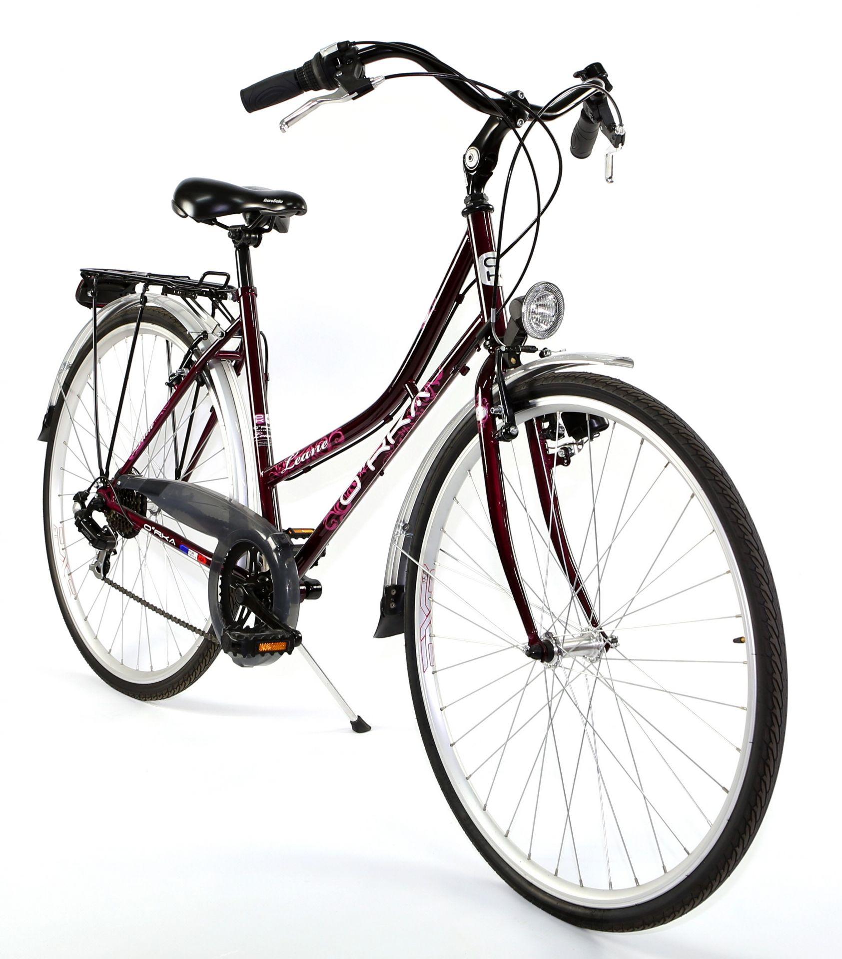 Vélo ville rétro Orka Léane - XS