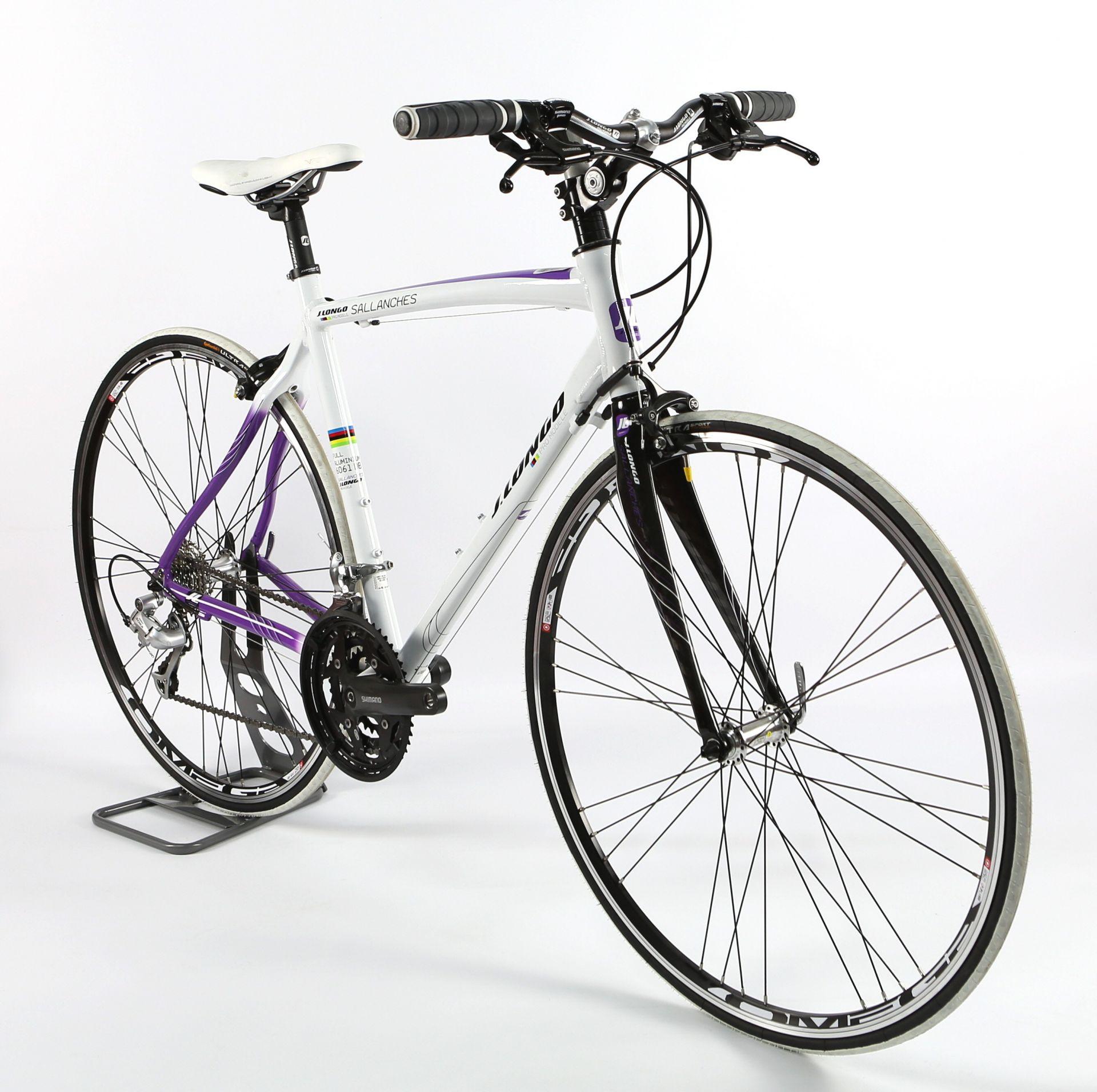 Vélo fitness J. Longo Sallanches alu 3x9V - XXS