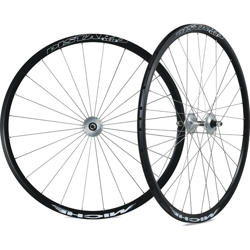 Roues Miche Pistard WR pneu 24/32T Piste/Piste 28 mm (Paire)