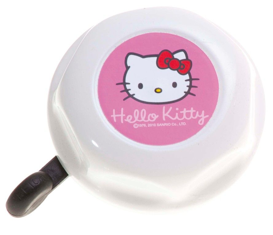 Sonnette Hello Kitty Blanche/Rose