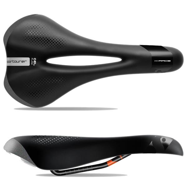Selle Sportourer X-Race Gel Flow Noir