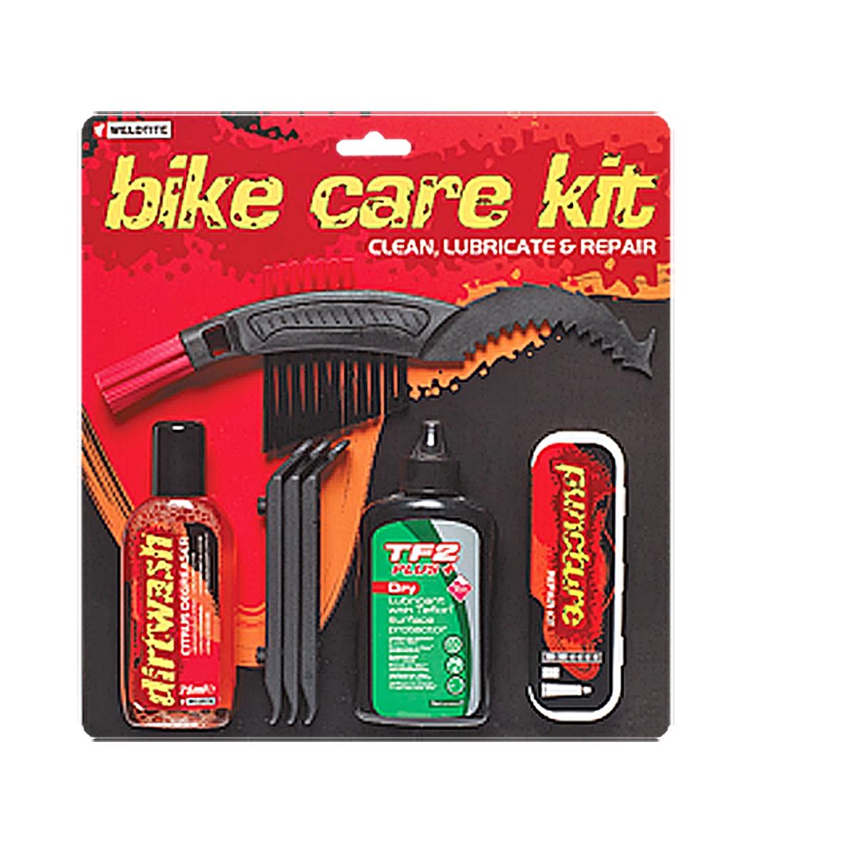 Kit D Entretien Weldtite / Bike Care Kit Lubrifiant / Nettoyant / Kit Reparation