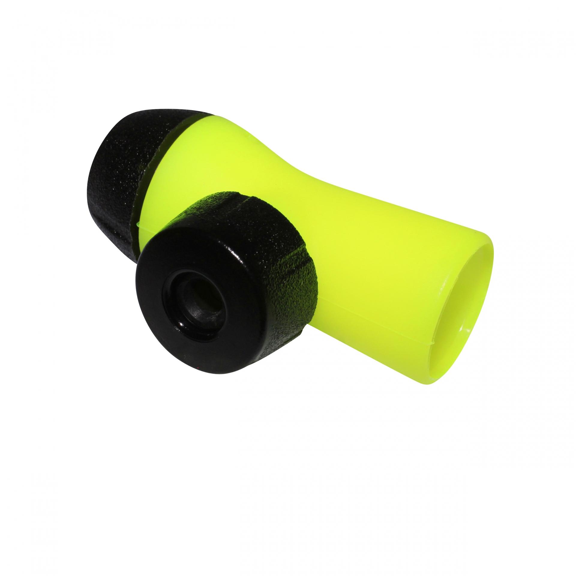 Gonfleur CO2 Roto à débit réglable comp. Presta/Schrader Jaune Fluo