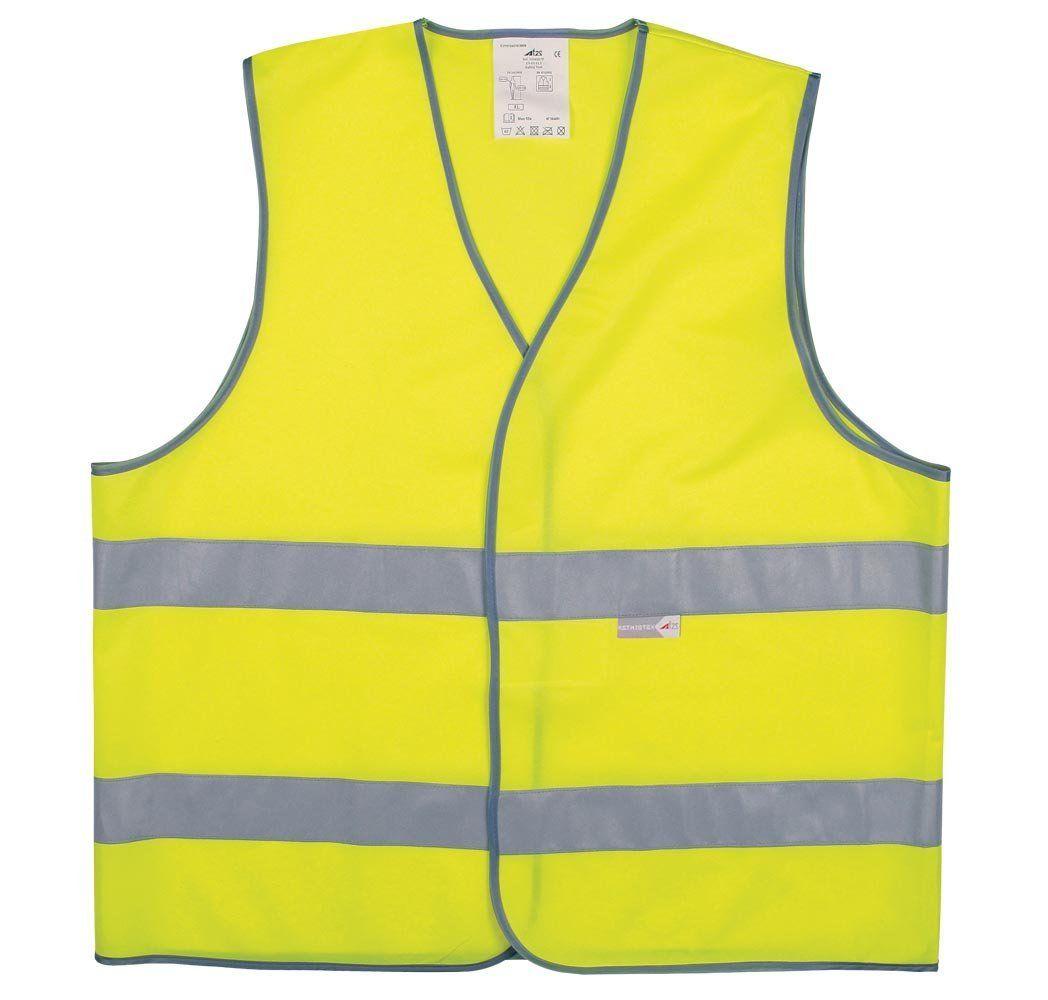 Gilet sécurité Adulte L2S Visio 543 Jaune fluorescent - XXL