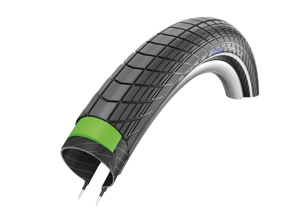 Pneu Schwalbe Big Apple Plus 20 x 2.15 Noir/Reflex (TR GG PL)
