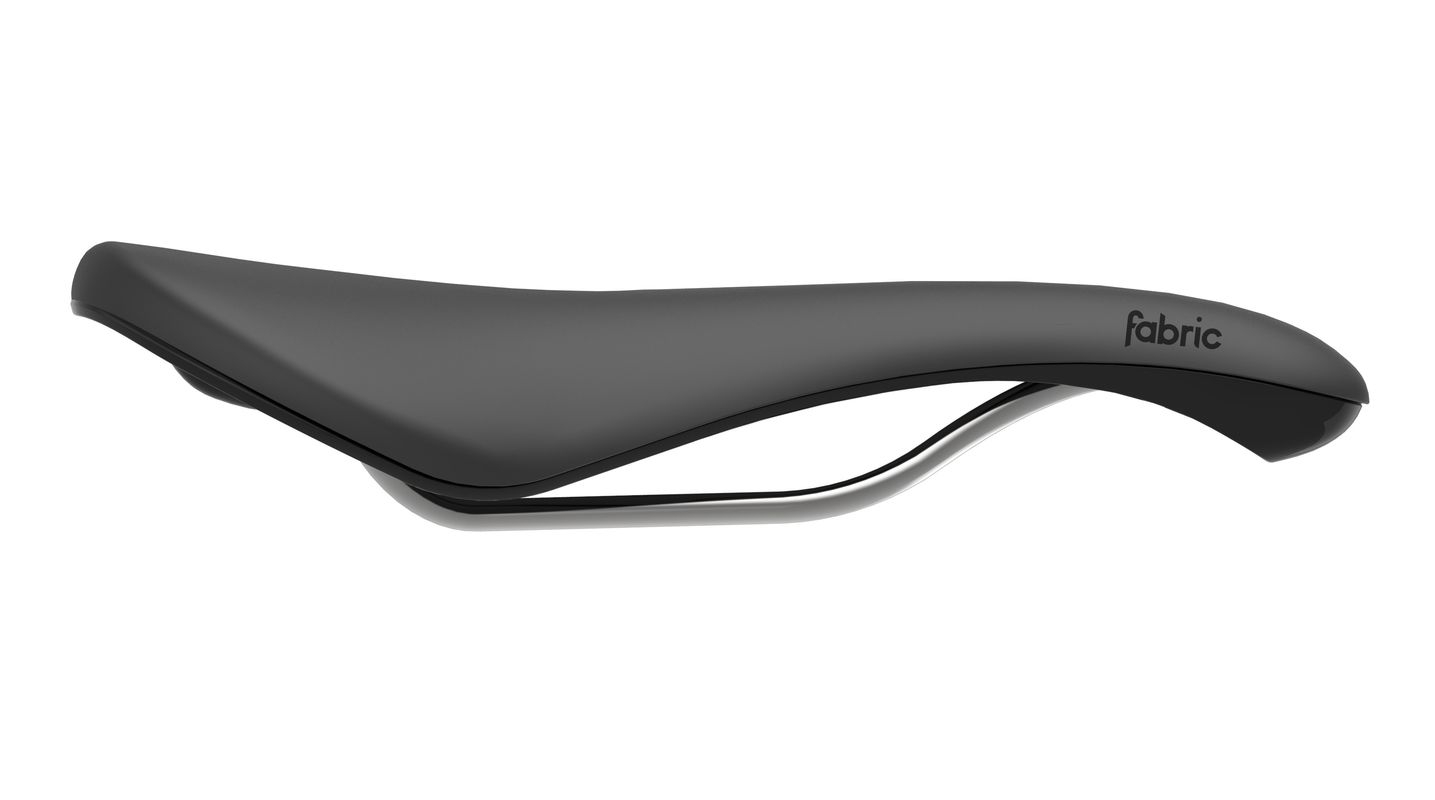 Selle Fabric Scoop Radius Elite 142 mm Noir/Noir