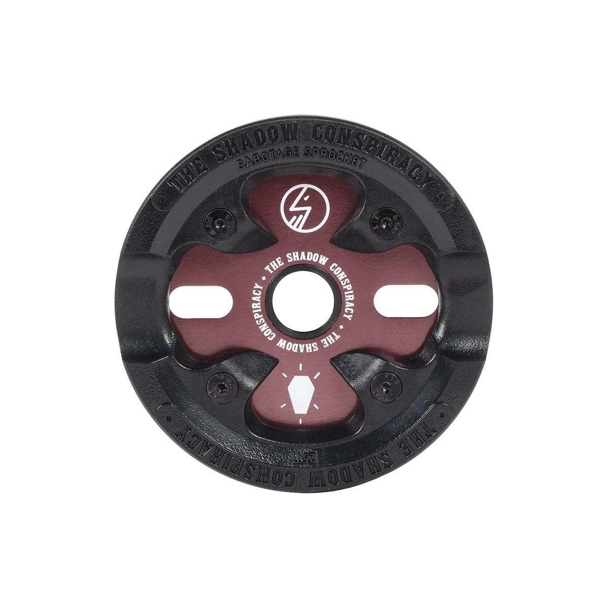 Couronne BMX TSC Sabotage Sprocket 25 dts Purple Livid