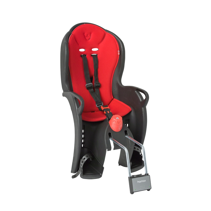 Siège enfant inclinable Hamax Sleepy (noir / rouge)