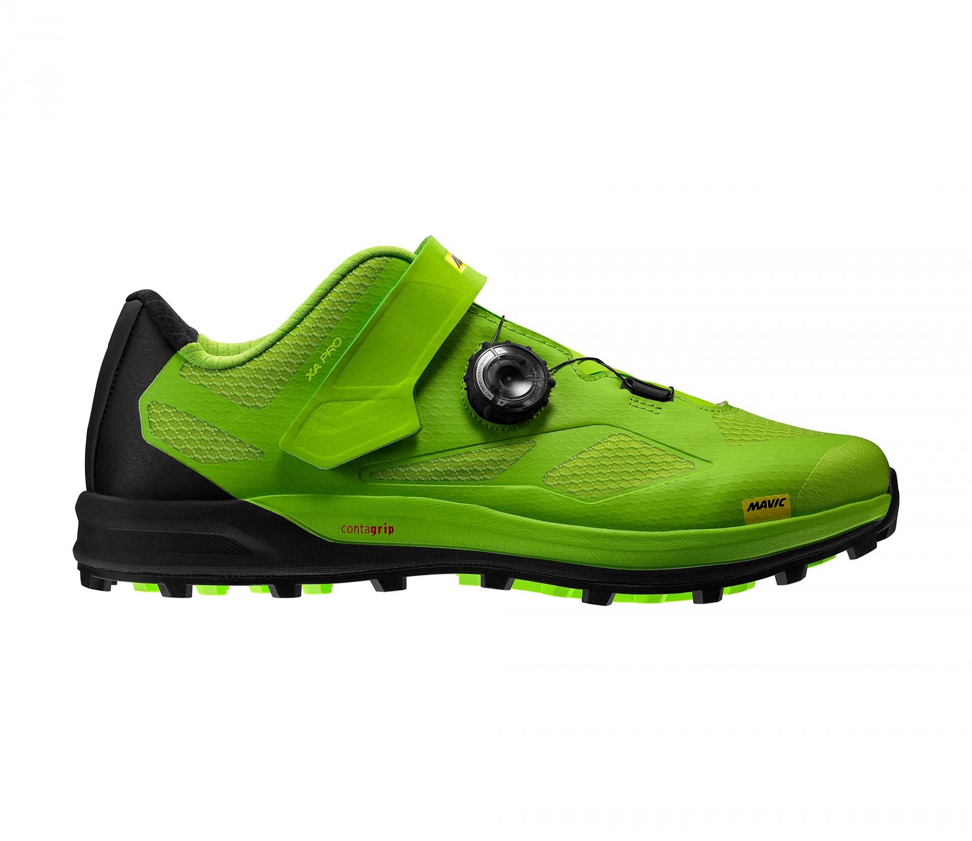 Chaussures VTT Mavic XA Pro Vert Lime/Noir Pirate - 43 1/3