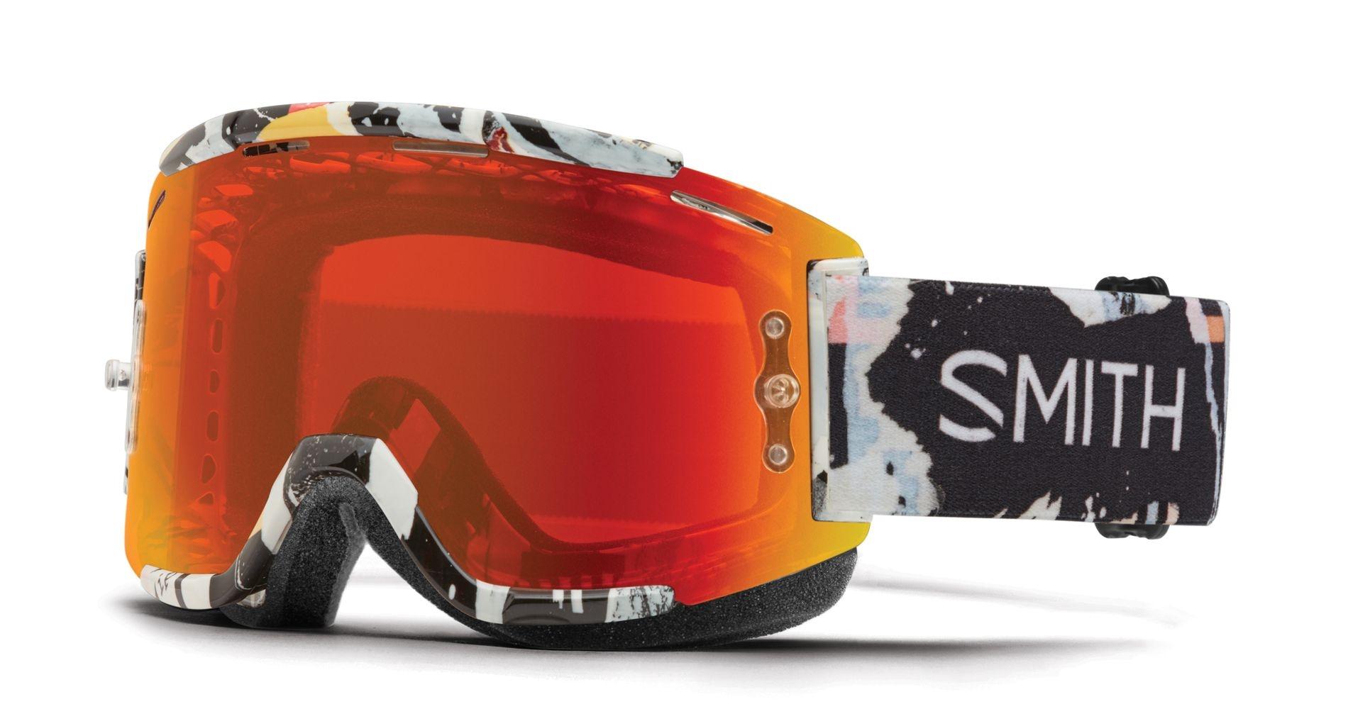 Masque Smith Optics Squad MTB Ripped ChromaPop Everyday Rouge Mirror