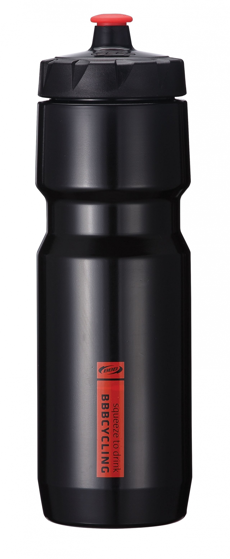 Bidon BBB CompTank 750 ml (noir/rouge) - BWB-05