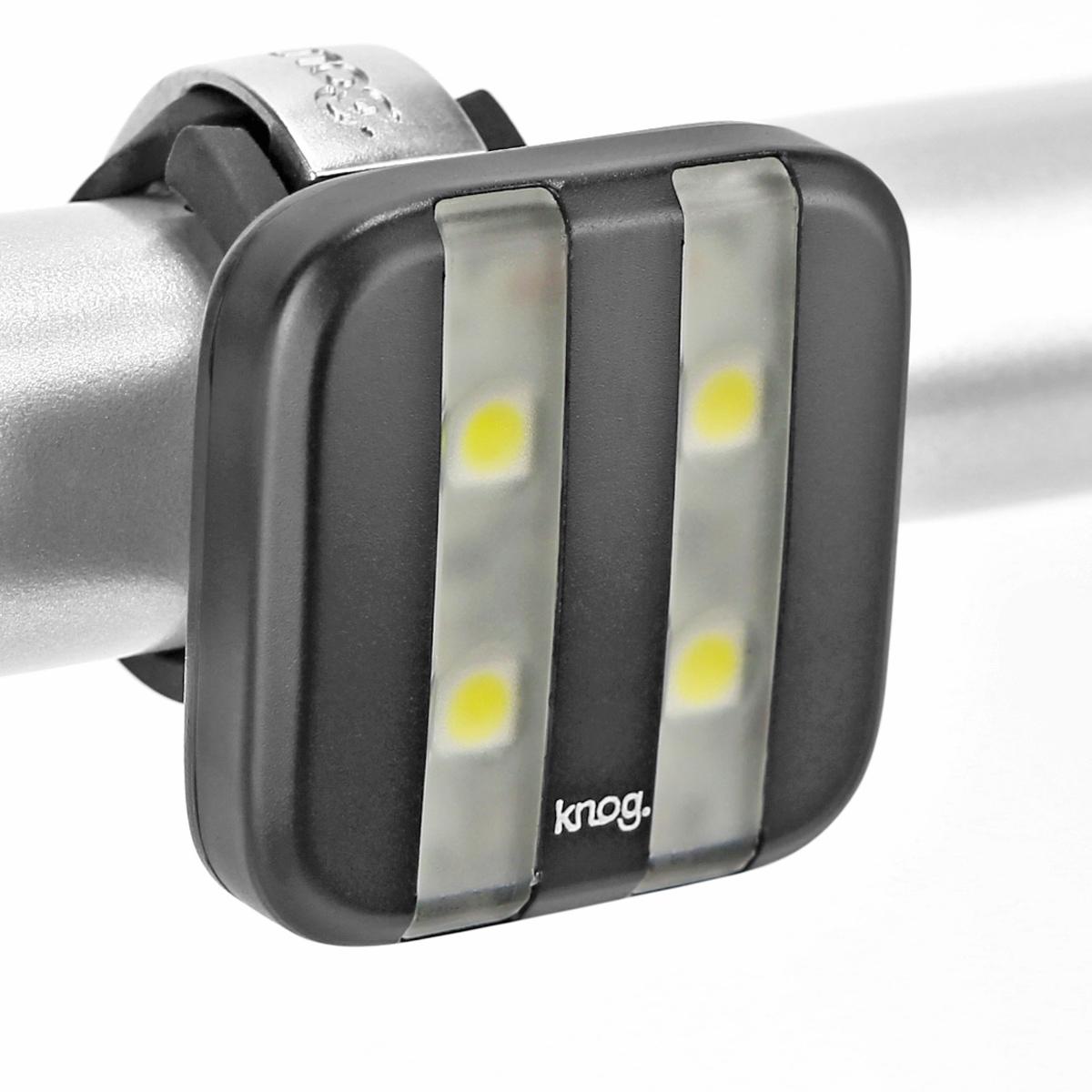 Éclairage avant Knog Blinder Ligne 4 LED - Noir