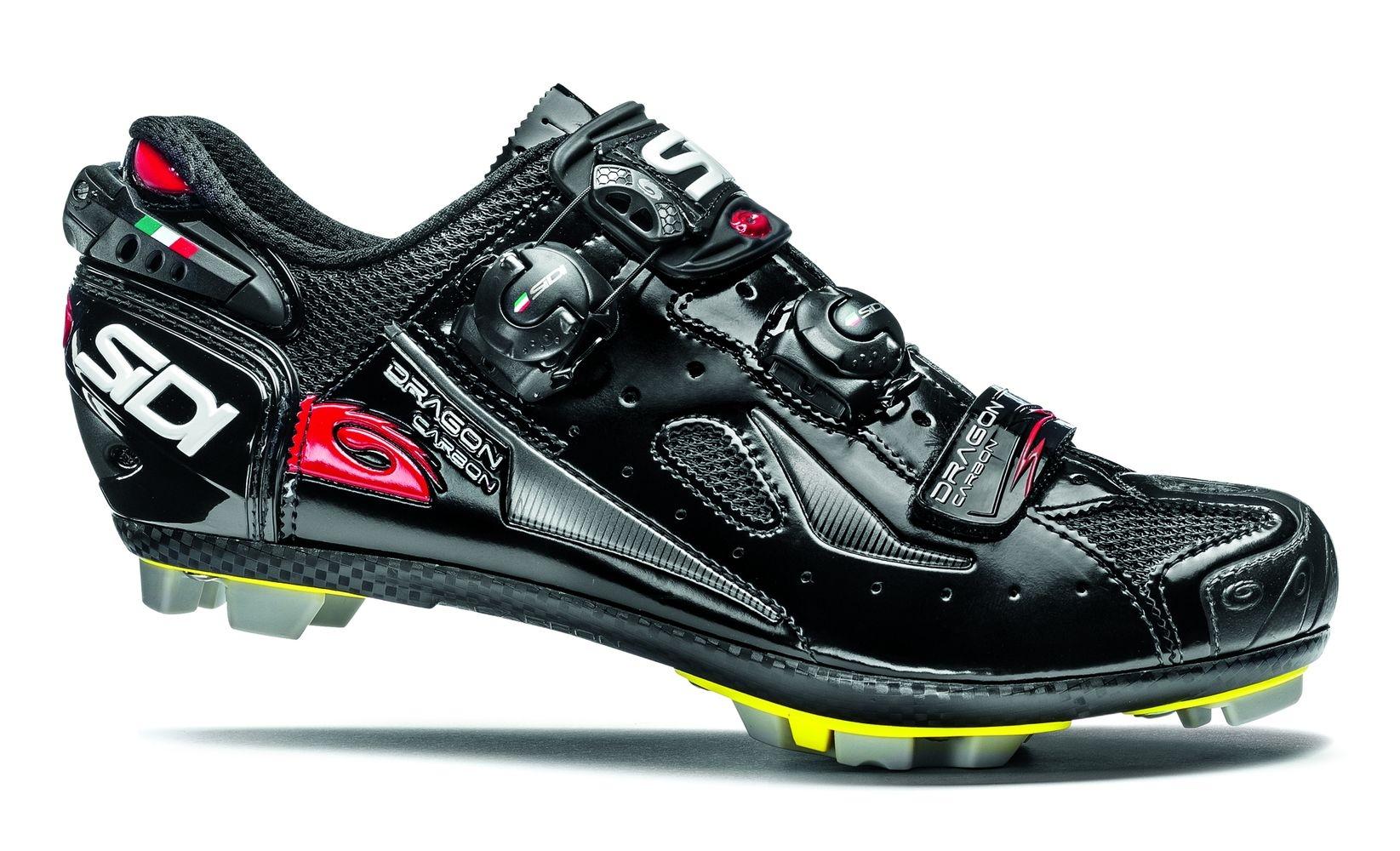 Chaussures Sidi MTB DRAGON 4 SRS Carb. Noir - 41