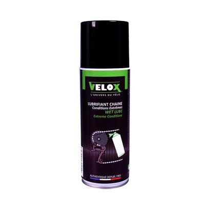 Lubrifiant chaine VELOX Conditions extrêmes Spray 200 ml