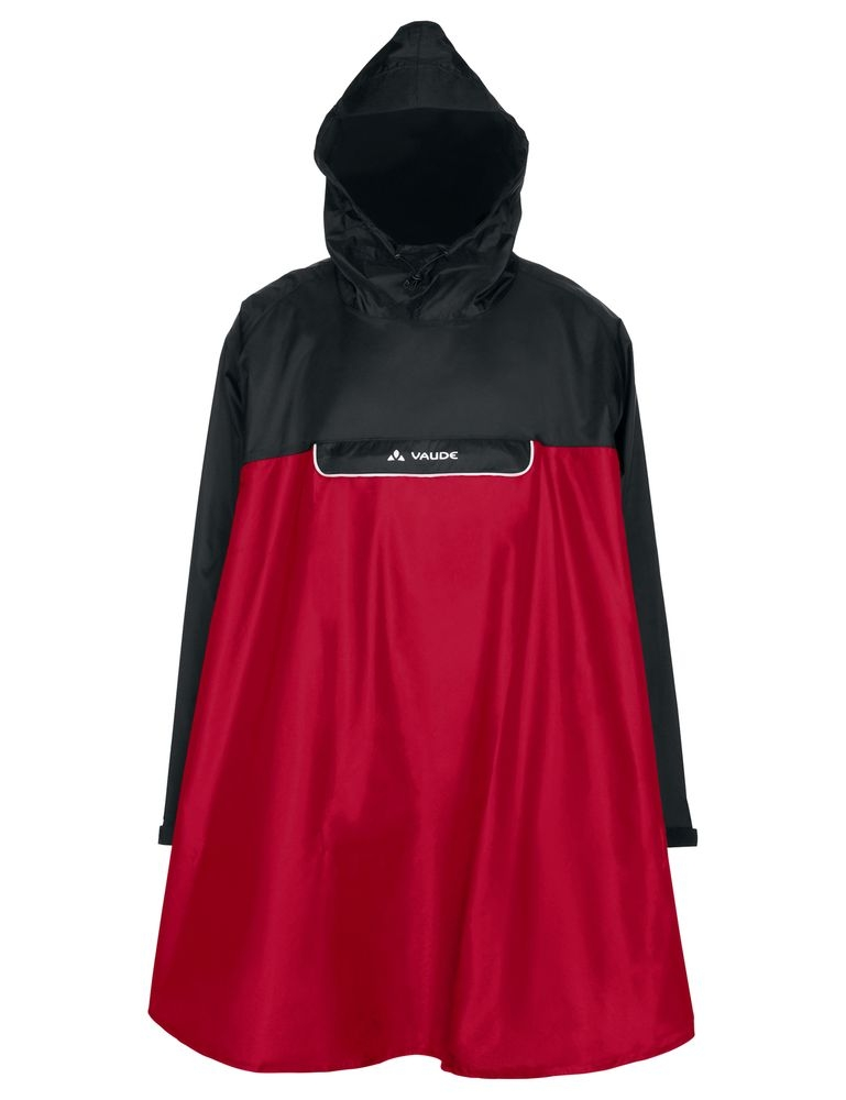 Poncho imperméable Vaude Valero Indian Rouge - S