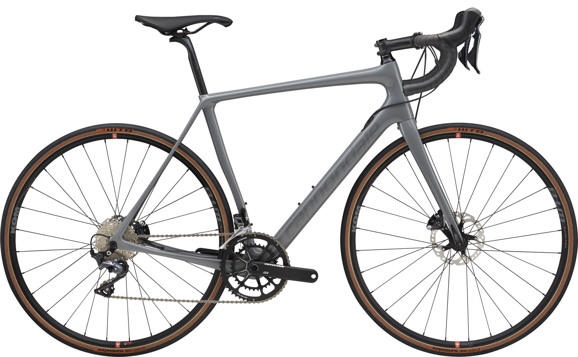 Vélo gravel Cannondale Synapse Carbon Disc SE Ultegra Gris - 54