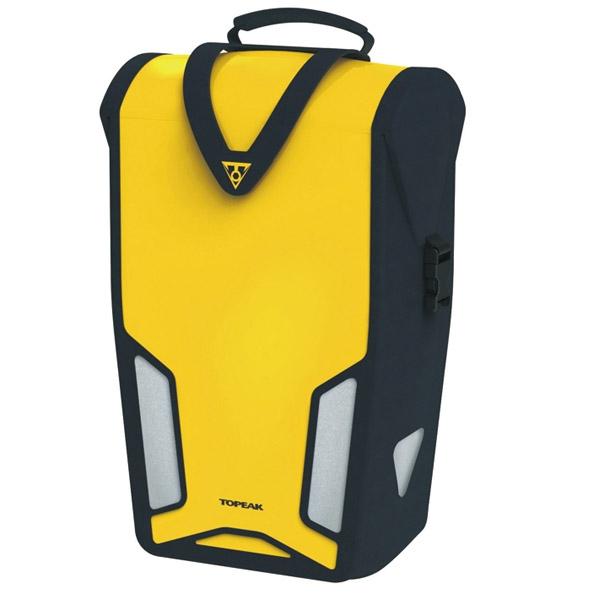 Sacoche étanche Topeak Pannier DryBag DX - 1 pièce (jaune)