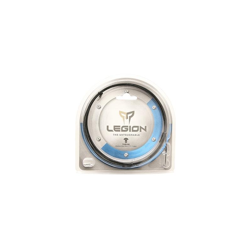 Câble de dérailleur Ashima Reaction inox teflon compatible Shimano 1,1 mm x 2,10 m (Lunité)